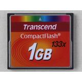 Tarjeta Memoria Compact Flash Transcend 1gb Cf