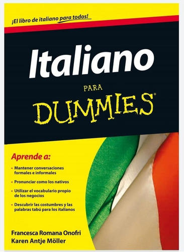 Italiano Para Dummies, Frases Italiano, Audios + Regalos D1g