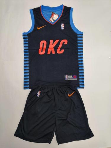 11846ca458e7c Uniforme De Baloncesto Nba Oklahoma City Thunder.   60000