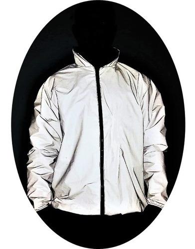 6cc3f7ba Chaqueta 100% Reflectiva Impermeable Moto, Cicla Enviogratis