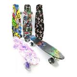 Patineta Tabla Skate Penny Mini Long Estampada 60 Cmts
