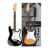 Combo Guitarra Electrica+amplificador 10w Jay Turser Jt300bk