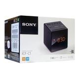 Radio Reloj Despertador Am/fm Sony Icf-c1 100mw + Obs