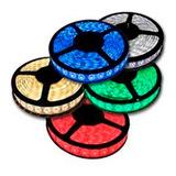 Cinta Led 5050 12v Silicona Blanca Y Colores Rollo X 5mt