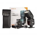 Flash Godox V860 Ii N Ttl Para Nikon Con Bateria Lithio