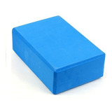 Cubo Para Yoga Bloque Gym Pilates Fitness Espuma Ladrillo