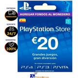 Tarjeta Psn 20 Euros España Playstation Gift Card