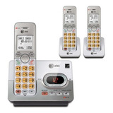Teléfono Inalámbrico At&t  Handset Dect 6.0  + 2 Teléfonos