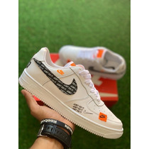 Tenis Mujer Nike For One Blancas Special + Cqja Y Envio Grat