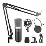 Micrófono Condensador Profesional Neewer Nw700 + Accesorios