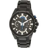 Reloj Casio Edifice Efr540bk-1a Negro World Black Ultimo New