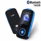 Reproductor Mp3 Bluetooth Con Soporte Para 16 Gb Hasta 64 Gb