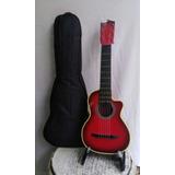 Guitarra Niño De 1 A 4 Años Con Estuche