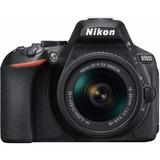 Nikon D5600 18-55mm Vr Kit Dslr Negra.