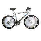 Bicicleta Todo Terreno Rin 26 En Acero. 18 Velocidades