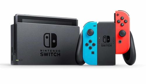 Nintendo Switch Con Súper Smash Bros Ultímate Y Fortnite