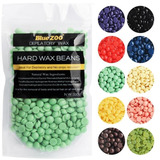 Hard Wax Beans Bluezoo Perlas Cera Elástica Depilatoria 100g