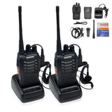 Baofeng Bf-888s Walkie Talkie Con Auricular X 2 Unidades