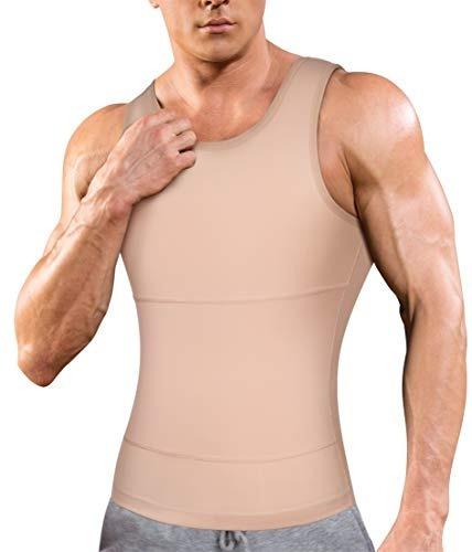 Camisa De Compresion Para Hombre Que Adelgaza El Cuerpo Shap