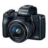 Cámara Canon Eos M50 24 Mpx Kit 15-45mm Vídeo 4k