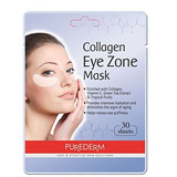 Deluxe Collagen Eye Mask Collagen Pads Para Mujeres De Pured
