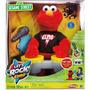 Elmo Rock Con Microfono Y Tambores Juguetes Niños Importados