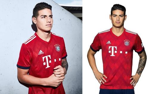 Camiseta Bayern Munich James Version Player Original 40474a1757c6a