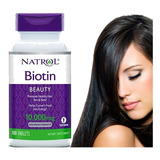Biotina Natrol  Usa 10.000 Mcg X100 Nuevo Empaque Original