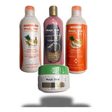 Kit Black Anticaída Magic Hair - g a $282