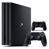Playstation 4 Pro 1tb Con 2 Controles Ps4 4k 1 Año Garantia