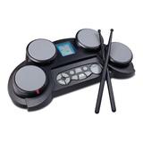 Bateria Electronica Medeli Dd61 De Mesa 4 Pads Sensitivos