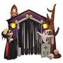 Inflable Casa Halloween Fantasma Calavera Decoracion Fiesta