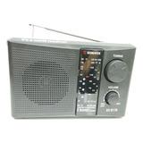 Radio Sonivox Vs-r118 5 Bandas Am/fm/tv/sw1/sw2