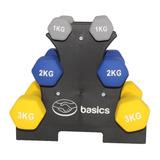Set De Mancuernas 1 Kg, 2 Kg Y 3 Kg  Mercado Libre Basics