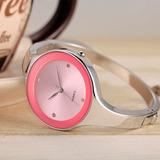 Reloj Para Mujer Tipo Pulsera Elegante + Caja De Regalo