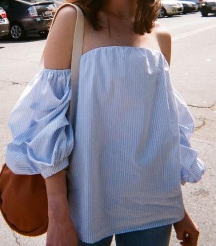 Blusas para mujer Limonni LI828 Campesinas