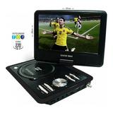 Televisor Con Tdt Dvd Portátil 9 Pulgadas Usb Fm Juegos + Ob