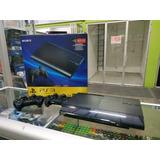 Ps3 Slim 250 Gb + Llena De Juegos + 2 Controles