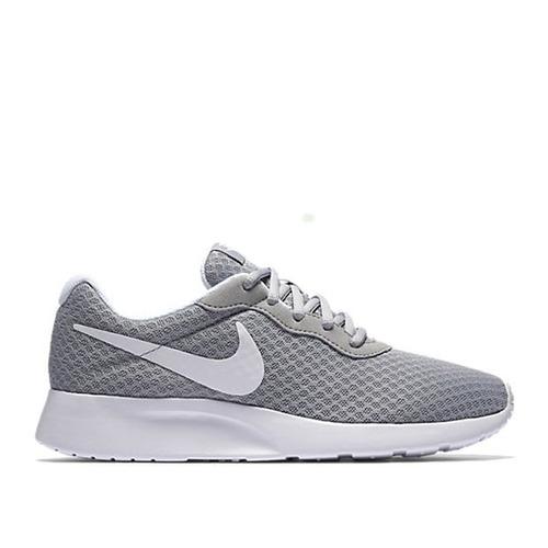 Tenis Nike Tanjun Gris Mujer Originales 912f83360f45c