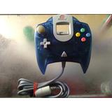 Control De Dreamcast Original,edicion Especial Color Azul Re