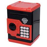 Caja De Moneda Código Electrónico Alcancías Mini Atm