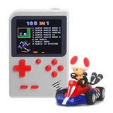 Mini Consola Retro Tipo Game Boy Gratis Mario Kart