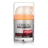 Crema L'oréal Vitalift Para Hombre Antiarrugas Humectante Ya