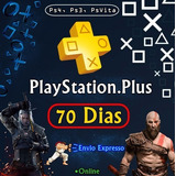 Ps Plus 70 Días + 35 Días Ps Now Entrega Inmediata