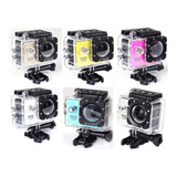 Camara Go Pro 1080 Full Hd Sumergible 2¨ Pantalla+accesorios
