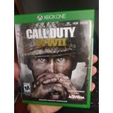 Xbox One Cod Ww2 Detalle Caja Vendo Cambio