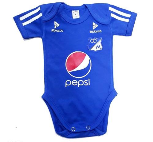 41934b842 Ropa Para Bebe Body Bodie Futbol Millonarios Baby Monster