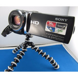 Filmadora Sony Hdr Cx190 Full Hd 25x Zoom 2.7 Lcd + Tripode!