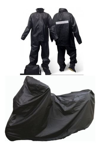 edf9c1d59d9 Impermeable Moto + Carpa /pijama Moto Original