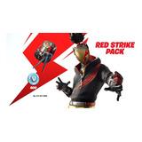 Fortnite Starter Pack Red Strike Codigo Xbox/ps4/pc/nintendo